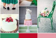Inspiration boards we love / inspiration boards & color boards from around the web