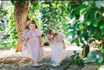 Flower girls/Ring bearers / Inspiration for flower girl dresses, shoes , hair accessories!