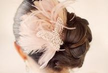 Veils & hair accessories / veils and hair accessories, dreamy hair pieces, flower crowns, vintage headbands
