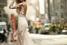 Bridal gowns / Stunning bridal gowns from amazing designers. Lace wedding dresses, wedding gowns with open backs, boho style wedding dresses... everything a bride would love to see! Wedding dresses from real weddings featured on the best wedding blogs