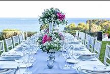 Reception table decor / Incredible and stylish ideas for wedding table decoration