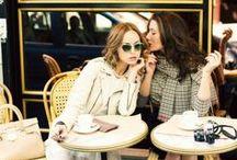 パリのテラスで / テラスに座り、パリを味わいましょう!