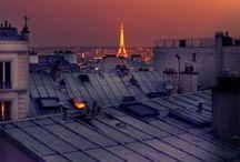 パリの屋根の上をお散歩