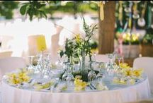 Wed Decor by I. Vamvakari / Beautiful unique ideas for the most beautiful wedding table decoration