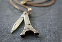 Knife necklace / knifes knife necklace