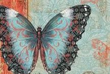 Butterfly Cards & Artwork 2