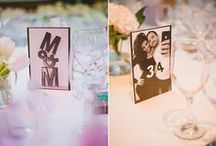 Table number ideas / The most unique and best table number ideas