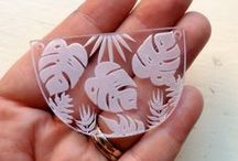Cuts for Pendants and More / Make a fun statement necklace or turn into fun hanging decorations