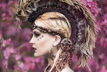 Beautiful pagan wedding moodboard