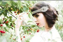cherry orchard mood board