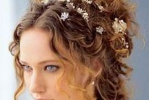 'The flower tousle' / mussy flowery up do's