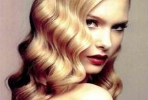 luxe pinned wavy hair / Glamorous hair trend for 2015
