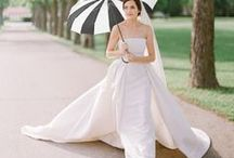 black and white wedding ideas / 2015 chic trends