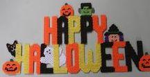 Plastic Canvas Halloween