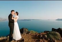 Weddings in Santorini / Destination weddings in Santorini