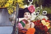 crochet & colour / colour bright flowers