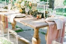 Tablescapes / Stylish and incredibly beautiful tablescapes for weddings