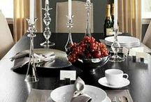 Table Settings / Beautiful table setting & layout for your function