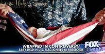 #flagbaby / All news articles and information related to the viral #flagbaby photo  Photos by Vanessa Hicks Photography