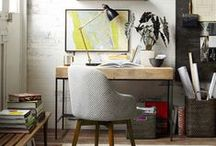 Home Office Ideas / Lovely workspaces of bloggers, entrepreneurs and web worker...