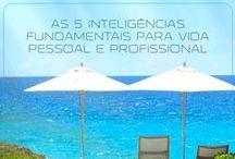 As 5 Inteligências Fundamentais para Vida Pessoal e Profissional / Desenvolvimento Pessoal, Coaching, PNL, Hipnose, Marketing Pessoal e Profissional.