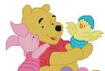 Plastic Canvas Pooh & Friends