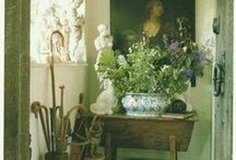 English country house flowers