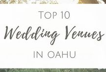 Favorite Wedding Venues in Hawaii | Vanessa Hicks Photography / Hawaii Wedding Photographer www.vanessahicksphotography.com info@vanessahicksphotography.com  Serving Oahu and surrounding islands