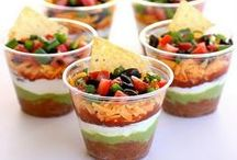 Party Food / Exciting & yummy food ideas and recipes for various occasions & events.