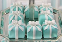 Tiffany & Co theme / Tiffany & Co themed parties including decor and food