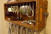Jewellery & hanging ideas