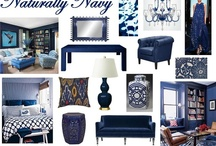 Navy the New Black / by Quilting Treasures