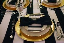 Table setting Inspiration / A range of creative table setting ideas for your next party.