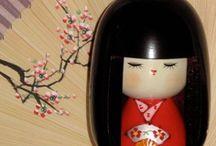 Kokeshi- dolls