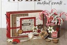 ESPRIT DE NOEL / Idées créatives autour de Noël : décoration, cadeaux ...