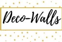 Deco-Walls / Walls deco ideas, papers and trends