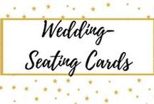 Wedding Seating Cards / Wedding seating cards, ideas, diy and trends