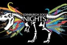 Edinburgh Zoo Nights / The award-winning Edinburgh Zoo Nights returns for 2014. As last year's events sold out several weeks in advance, this year we have released four dates for you to party with the animals.  Edinburgh Zoo Nights is an adult-only afterhours event where you get the rare opportunity to see what the animals get up to in the evening whilst enjoying a drink and a range of delicious street food.