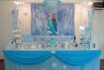 Frozen & Winter Themed Parties / Disney's Frozen & Winter/Snow themed parties ideas and inspiration for decorating and fun games.