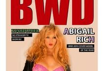 Abigail Rich featured in BWD Magazine / Our internationally published supermodel has been featured in the August edition of the world famous BWD Magazine, seen worldwide and by countless fans of music and entertainment news. -BWD Magazine is well known for A Lifetime of Music & Entertainment News. Be sure to follow the below link and see Miss Abigail's feature on Pages 4 and 5.  TEAM ABIGAIL STAFF  All photos credited to: MODEL SHOTS PHOTOGRAPHY  http://www.bwdmagazine.com/
