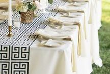Tablescapes / Create a Beautiful Setting