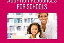 Adoption resources for schools / Books, leaflets, films and other resources to help schools understand and meet the needs of adopted children.