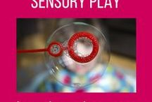 Activities to help children with sensory issues / Does your child have sensory processing difficulties, or do they have sensory-seeking behaviours such as seeking proprioceptive feedback, or chewing everything in sight? Mine too – here are some things that can help.