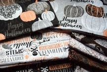 Halloween Fabrics / by Quilting Treasures