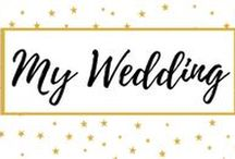 My Wedding / Here you'll find all my wedding preparation process. My make up and hair, my dress, the invitations, the deco and all the diy projects I did!!!!