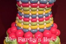 Our Balloon Dress Portfolio / Balloons dresses made by The Party's Here for special events wwww.thepartyshere.com.au