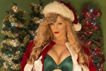 Christmas 2015 with Int'l Glamour Model & Int'l Playboy Playmate Miss Abigail Rich / 2015 Christmas photos & magazines featuring International Glamour Model & International Playboy Playmate Abigail Rich. All photos credits: MSP