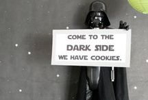 Star Wars Party / Star Wars themed parties. Ideas for decor, gifts and food.