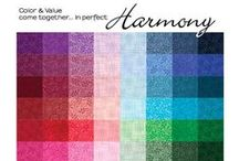 Harmony / The Blender Program for color & value in perfect harmony! / by Quilting Treasures