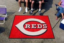 MLB - Cincinnati Reds Fan Cave Decor and Tailgating Gear / Find and Buy the latest MLB Decor for your Cincinnati Reds Man Cave, Gear for Tailgating, and Automotive Accessories for your car or truck